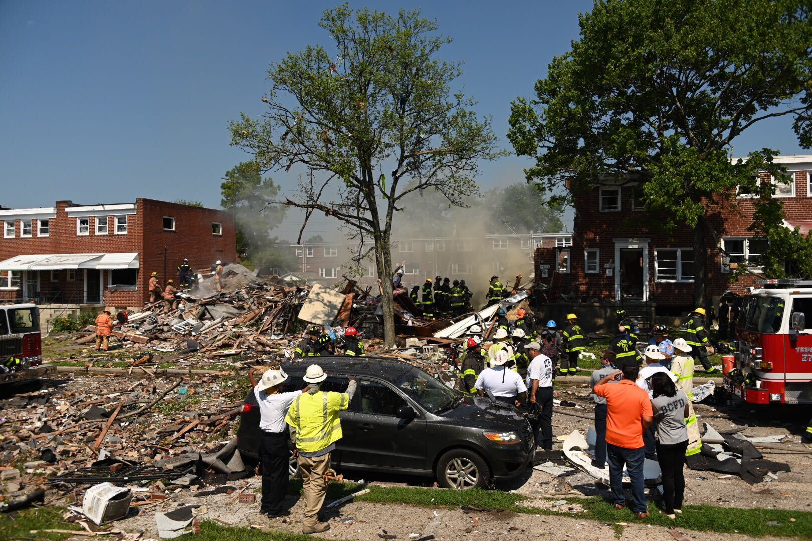 baltimore gas explosion